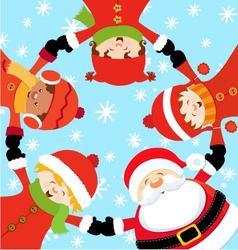 Santa Christmas Party vector image vector image