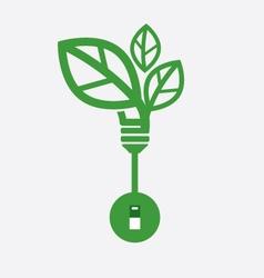 Saving Energy Concept vector image vector image
