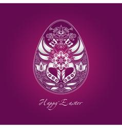 happy easter vector image vector image