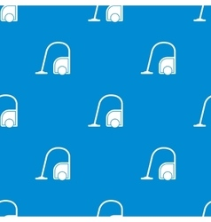 Seamless vacuum cleaner pattern vector image vector image