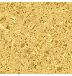 Gold mosaic background EPS 8 vector image