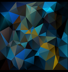 Abstract irregular polygon background peacock blue vector