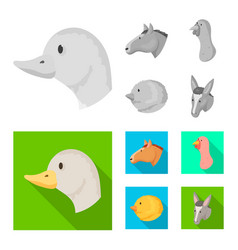 agriculture and breeding vector image