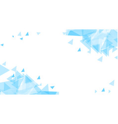 blue abstract background chaotically moving vector image