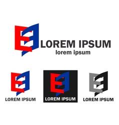 Company business logo vector image