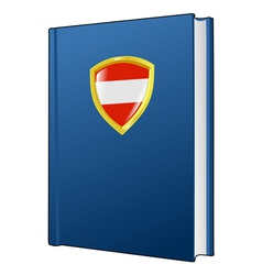 Constitution of austria vector