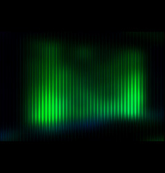glowing neon green abstract with light lines vector image