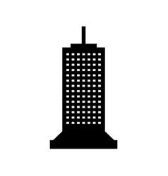 skyscraper icon vector image