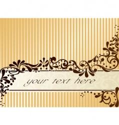 vintage sepia banner horizontal vector image