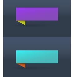Banner Purple vector image