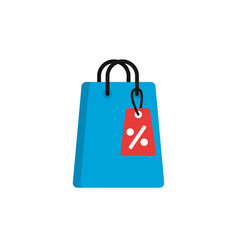 commerce shopping flat image icon vector image