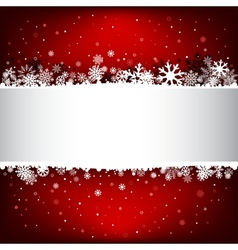 Dark red snow mesh background with textarea vector