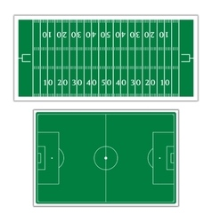 Field to play football vector
