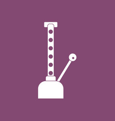 Icon car crane vector