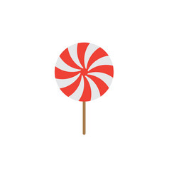 lollipop candy graphic design template isolated vector image