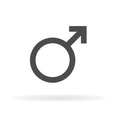 mars symbol icon1 vector image