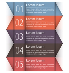 Modern Infographics Design Template vector