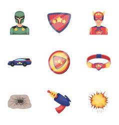 Superman man clothes and other web icon in vector