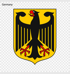 symbol germany vector image