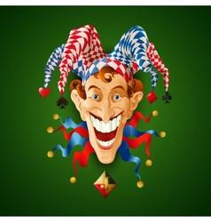 Picture Jolly Joker vector image