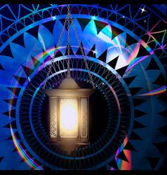 the concept of ramadan vector image