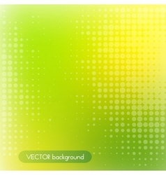 green and yellow background vector image