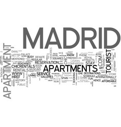 apartments for rent in new jersey text word cloud vector image