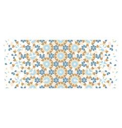 Arabesque border wallpaper texture vector