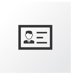 authentication icon symbol premium quality vector image