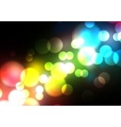 Blurred Background on dark vector image