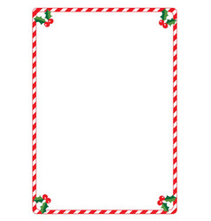 Christmas boarder vector