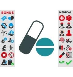 Medication Icon vector image