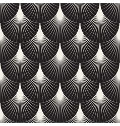 Seamless Sunburst Lines Geometric Pattern vector image