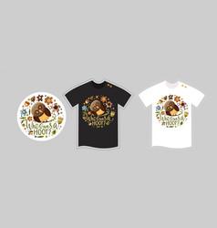 T shirt kids design template vector