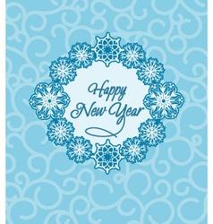 Happy New Year 2014 vector image