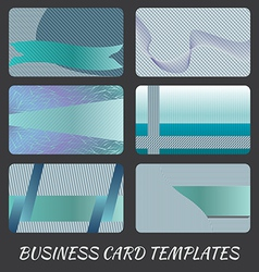 business-card-templates-1 vector image