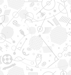 Football championship abstract seamless background vector image