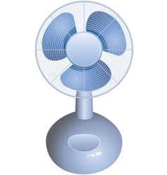 table fan vector image