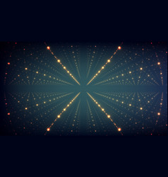 Abstract background glowing stars vector