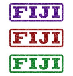 Fiji watermark stamp vector