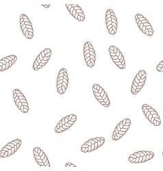 Hand drawn cupcakes seamless pattern print vector