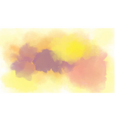 hand painted watercolor abstract background vector image