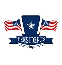 happy president day vector image