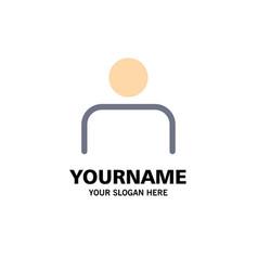 Instagram people profile sets user business logo vector