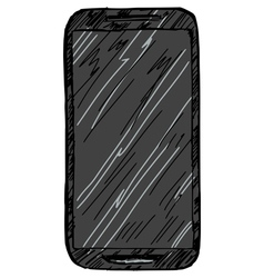 phone vector image