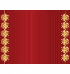 red stripe gold bow background vector image