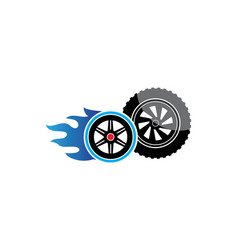 tire template vector image