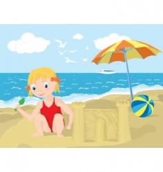 summer playground vector image