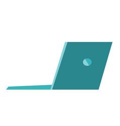 laptop cartoon vector image vector image