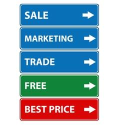 Set of sale vector image